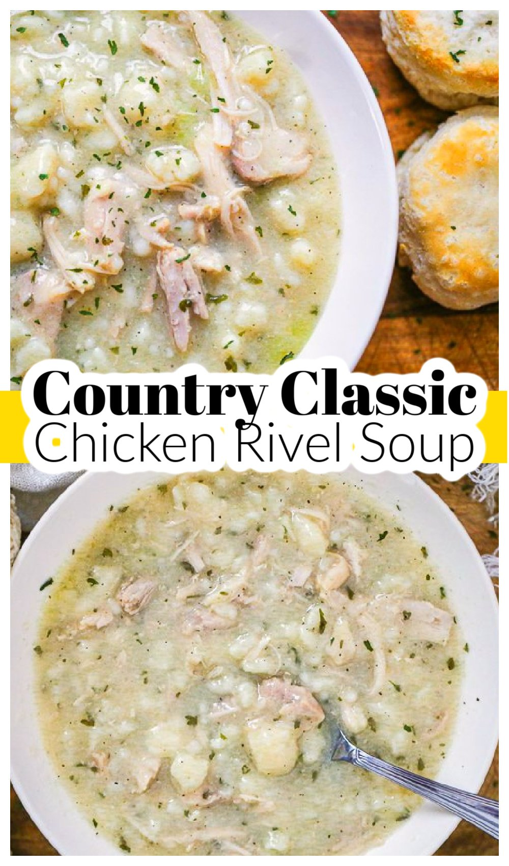 Country Classic Chicken Rivel Soup